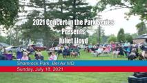 Concert in the Park Series - July 18, 2021