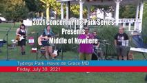 Concert in the Park Series - July 30, 2021