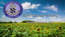 Harford County Council - October 5, 2021